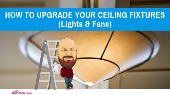 How To Upgrade Your Ceiling Fixtures (Lights & Fans)