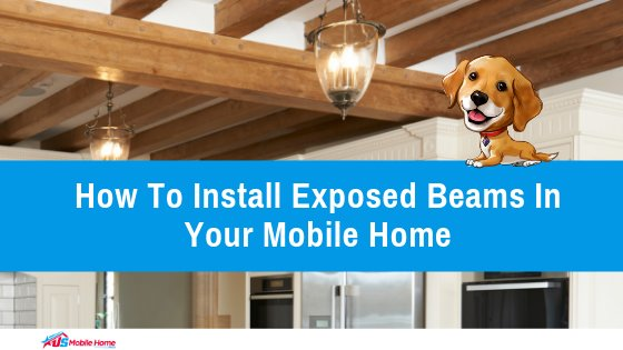 How To Install Exposed Beams In Your Mobile Home I Beams Under Mobile Home on cape cod beams, log home beams, house beams,