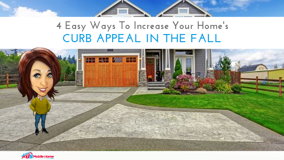 "Featured image for ""4 Easy Ways To Increase Your Home's Curb Appeal In The Fall"" blog post"