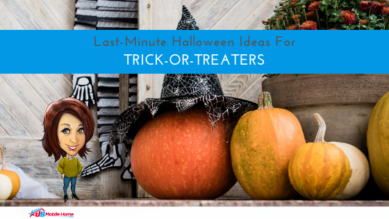 Last-Minute Halloween Ideas For Trick-Or-Treaters