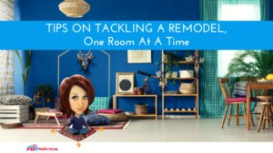 "Featured image on ""Tips On Tackling A Remodel, One Room At A Time"""
