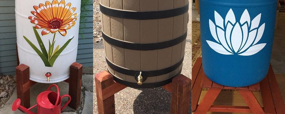 Raincatcher and barrels