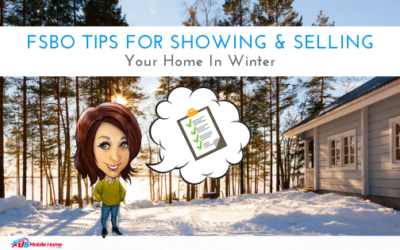 FSBO Tips For Showing & Selling Your Home In Winter