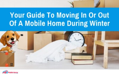 Your Guide To Moving In Or Out Of A Mobile Home During Winter