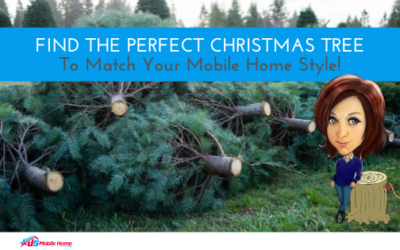 Find The Perfect Christmas Tree To Match Your Mobile Home Style!