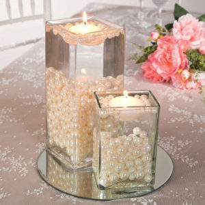 Pearls and candles